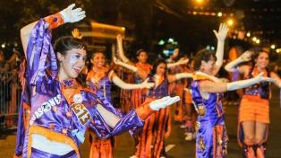 """Con festejos en la Ciudad, comienzan los """"cuatro días locos"""" de carnaval"""