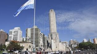 Celebraron los 205 años de la creación de la Bandera