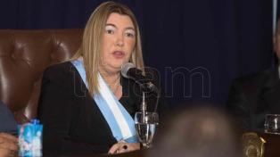 Bertone reafirmó que ella es la gobernadora de las Islas Malvinas y no quien designe el Reino Unido
