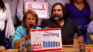 Los gremios docentes manifestaron que la conciliación obligatoria es inconstitucional
