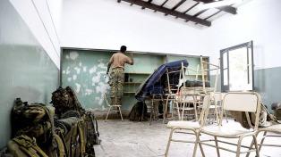 Escuchar, recomponer y empezar de nuevo, las prioridades en las escuelas Volcán y La Emilia