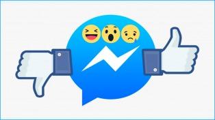 """Facebook experimentará el nuevo botón de """"No me gusta"""" en Messenger"""