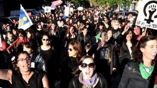 Movilizaciones en decenas de ciudades argentinas por el Día Internacional de la Mujer