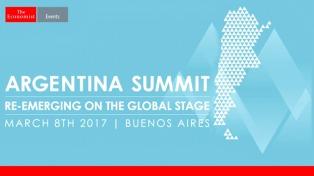 Se inicia Argentina Summit 2017 organizada por The Economist