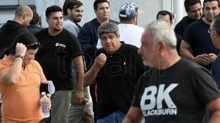 """""""Acá la que para el país es la CGT, no 200 muchachos kirchneristas"""", dijo Pablo Moyano"""