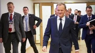 Tusk dice que hay fuerzas que buscan influir en las elecciones europeas