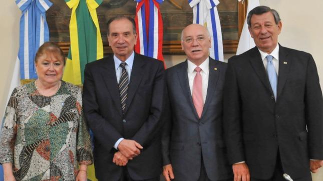 Brasil defenderá la expulsión de Venezuela del Mercosur en la reunión de cancilleres en Buenos Aires