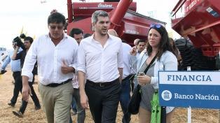 """Peña dijo que el Gobierno anterior """"no vio que el motor era el campo"""""""