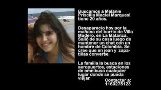 Buscan a una joven de 19 años y se sospecha que fue víctima de trata