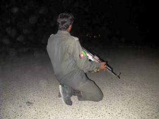 Murieron ocho policías en un ataque talibán en Afganistán