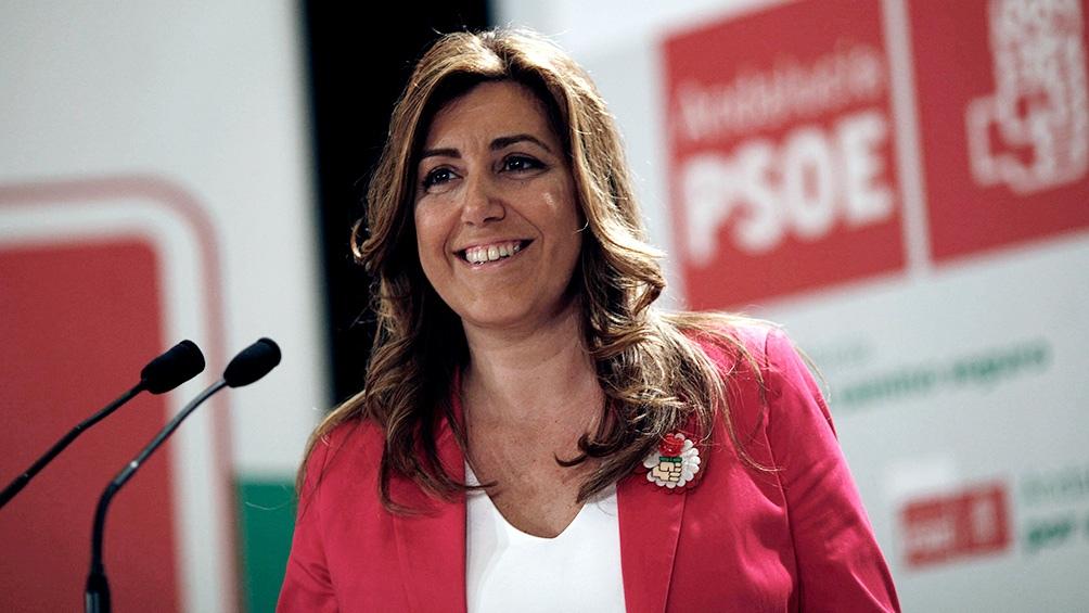 Susana Díaz, PSOE