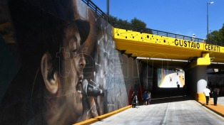 """Se inauguró el paso bajo nivel """"Gustavo Cerati"""" en Beiró y las vías del ex Urquiza"""