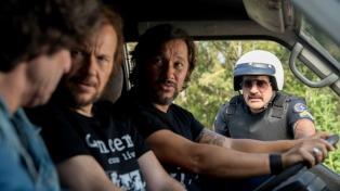 """Peretti, Segura y Torres, un trío rockero reunido en """"Casi leyendas"""""""