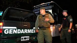 Gendarmería realizó allanamientos por lavado de activos