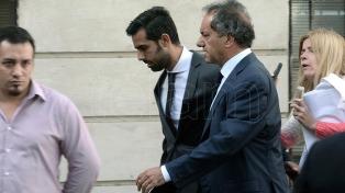 Scioli declaró tres horas en la causa por lavado de activos y manejos irregulares de fondos