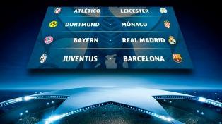 El Barcelona jugará ante la Juventus en los cuartos de  Champions