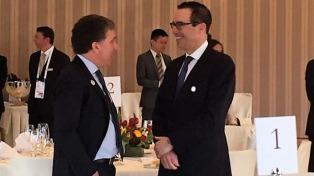 Dujovne y el secretario del Tesoro de los Estados Unidos acordaron acelerar el intercambio de información tributaria