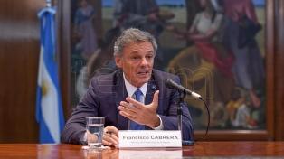 Cabrera afirmó que el acuerdo con Prisma fortalecerá la competencia