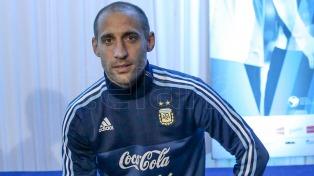 Zabaleta fue desafectado del seleccionado por lesión