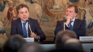 Dujovne ratificó el proceso de integración y de apertura al mundo de la economía de Argentina
