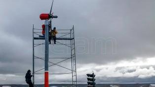 Ensayan un generador eólico que se pliega como una palmera ante los vientos extremos