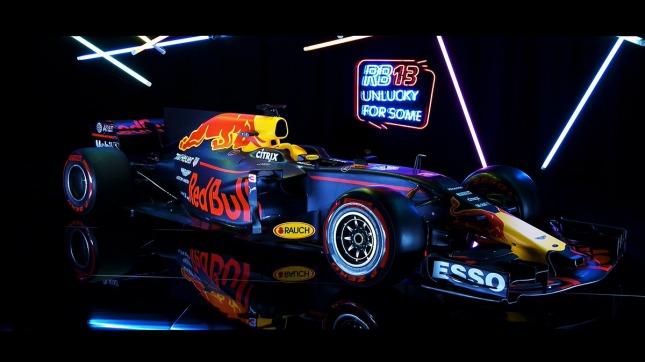 El auto de Verstappen de la escudería Red Bull (Foto: @Max33Verstappen)