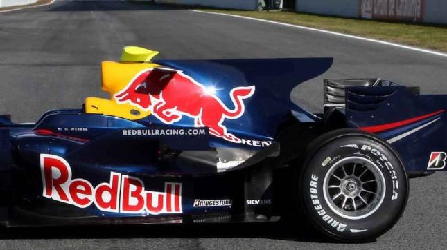 Red Bull y su aleta de tiburón (Foto: Reddit.com)