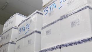 Comenzó la distribución de la vacuna antigripal para todo el país