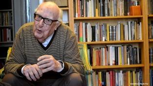 Falleció Andrea Camilleri, el creador de la saga Montalbano