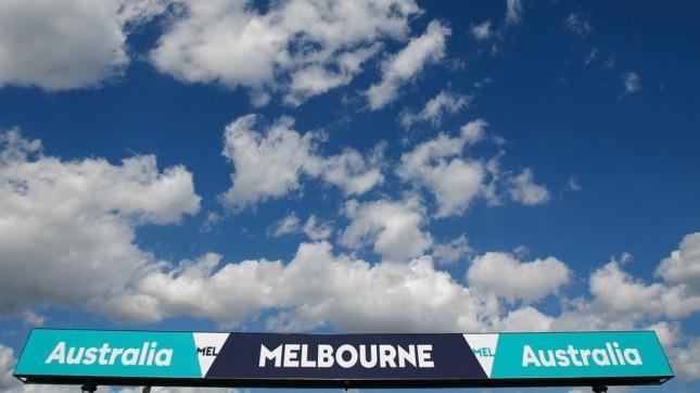El trazado de Albert Park se prepara para el GP de Australia (Foto:@F1)