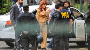 Cristina apeló su procesamiento en la causa Los Sauces
