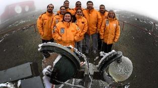 Meteorólogos del confín antártico