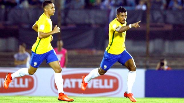 Brasil goleó a Uruguay y se acerca al Mundial