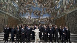 """Francisco a los líderes europeos: """"No hay paz donde falta el trabajo o el salario digno"""""""