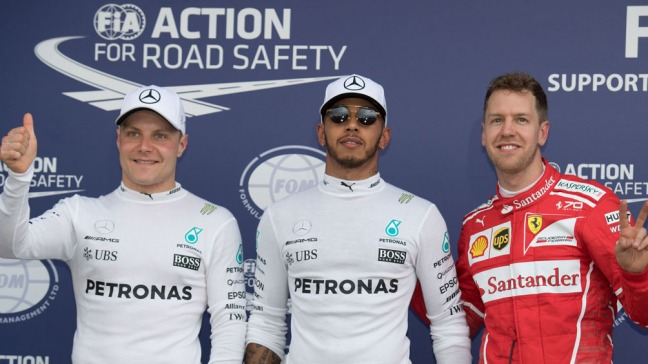 Hamilton vaticinó espectáculo entre los pilotos en la 2017
