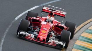 Vettel logró el mejor tiempo para el Gran Premio de China