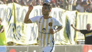 """Con gol de """"Teo"""" Gutiérrez, Central venció a Tigre"""
