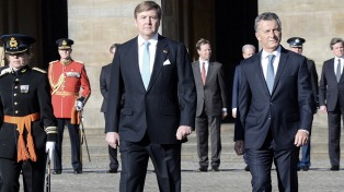 El Presidente Macri inició su visita oficial a Holanda