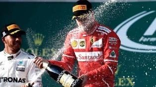 El alemán Vettel ganó el Gran Premio de Australia