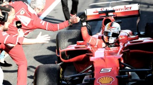 Vettel ganó el Gran Premio de Bahrein