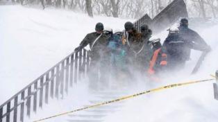 Al menos 12 montañistas muertos por una avalancha