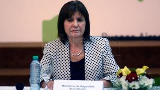 La ministra Bullrich reveló que el Gobierno tenía un plan para evacuar a Cristina Kirchner ante los incidentes