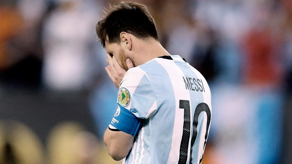 Messi protagonista de las últimas  tres finales de la Argentina en Copa América (foto Archivo)
