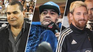 """Chilavert: """"¿Dónde está Maradona para defender a Messi?"""""""