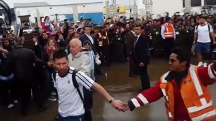 "La Paz explotó por la llegada de ""Leo"""