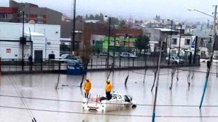 Un fuerte temporal azotó el sur de Chubut