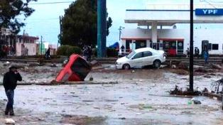 Dejó de llover en Comodoro pero hay graves daños y zonas muy críticas con evacuados