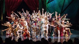 El Cirque du Soleil se presentará por primera vez en Mendoza