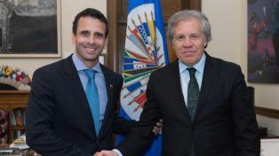 Los países de la OEA declararán el lunes que en Venezuela se alteró el orden constitucional