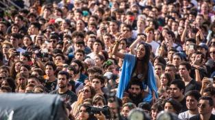 Importante operativo de seguridad en el festival Lollapalooza